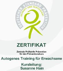 Zentrale Prüfstelle Prävention für den Präventionskurs
